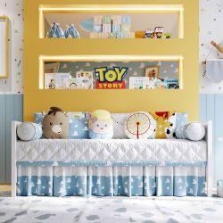 Kit Cama Babá Amiguinhos Toy Story