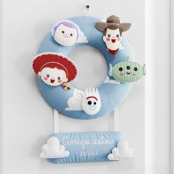 Porta Maternidade Toy Story Amigo Estou Aqui