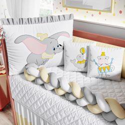 Kit Berço Trança Dumbo