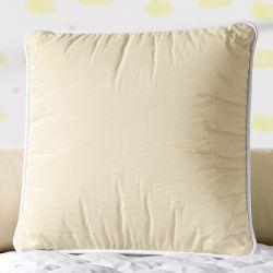 Almofada Quadrada Amarelo Cordonê 38cm