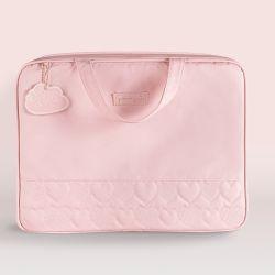 Mala Maternidade Chuva de Amor Rosa 48cm