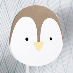 Cabideiro de Parede Pinguim Arca dos Bichinhos