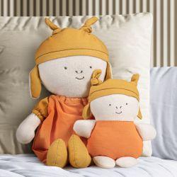 Bonecos de Pano Nózinho Mamãe e Bebê Girafinha