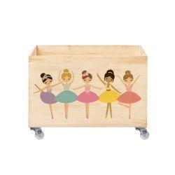 Caixa Organizadora para Brinquedos Bailarinas