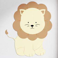Adesivo de Parede Amiguinho Leão