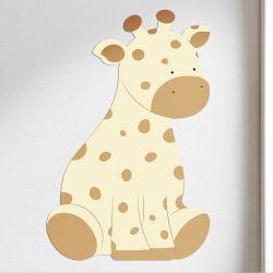 Adesivo de Parede Amiguinha Girafa