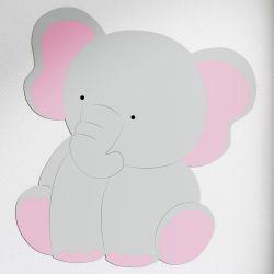 Adesivo de Parede Amiguinho Elefante