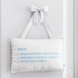 Porta Maternidade Amor é Azul