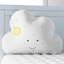 Almofada Amiguinha Nuvem Amanhecer Azul 30cm