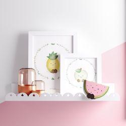 Prateleira MDF Frutinhas