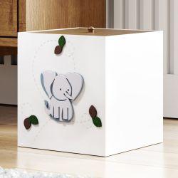 Lixeira Elefantinho Safári Baby
