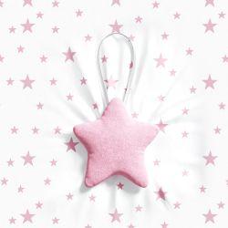 Lembrancinha Maternidade Mon Petit Estrela Rosa