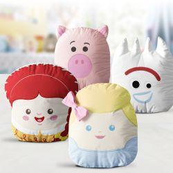 Almofadas Amiguinhos Toy Story Betty, Jessie, Garfinho e Porquinho