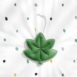 Lembrancinha Maternidade Mon Petit Folha de Outono Verde