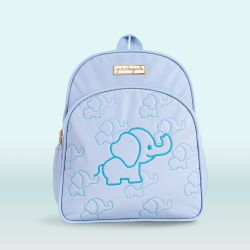 Mochila Maternidade Elefantinho Azul 30cm