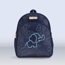 Mochila Maternidade Elefantinho Azul Marinho 30cm