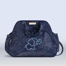 Bolsa Maternidade Elefantinho Azul Marinho