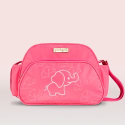 Frasqueira Maternidade Elefantinha Pink