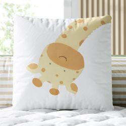 Almofada Quadrada Amiguinha Girafa 30cm
