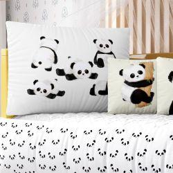 Kit Berço Panda Baby