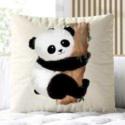 Almofada Quadrada Ursinho Panda 33cm