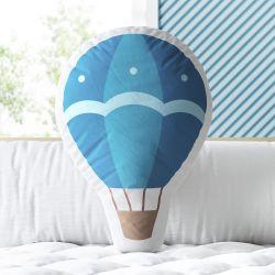 Almofada Balão de Passeio Azul 33cm