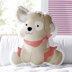 Almofada Cachorrinha Bailarina 33cm