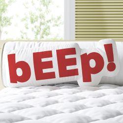 Almofada Beep Vermelho 33cm