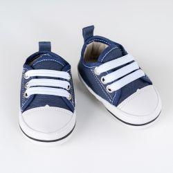 Tênis Bebê Casual Azul Marinho