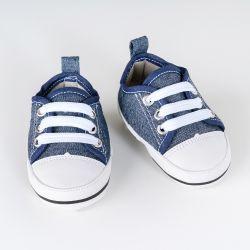Tênis Bebê Casual Azul Jeans Escuro