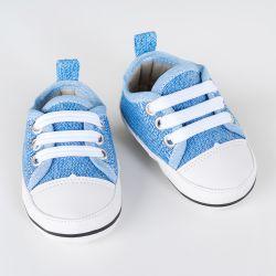 Tênis Bebê Casual Azul Jeans