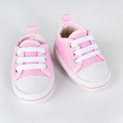 Tênis Bebê Casual Rosa