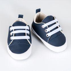 Tênis Bebê Passeio Azul Marinho
