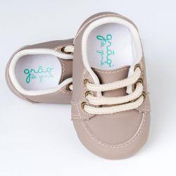 Tênis Bebê Classic Cinza Taupe