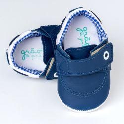 Sapatinho Bebê Philip Azul Marinho