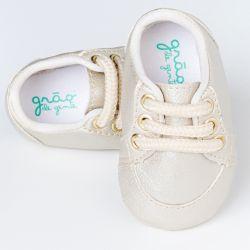 Tênis Bebê Classic Dourado