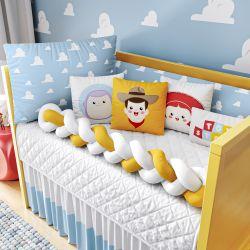 Kit Berço Trança Toy Story Nuvem