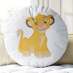 Almofada Redonda Simba O Rei Leão 30cm