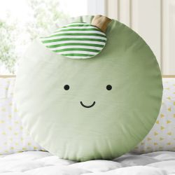 Almofada Redonda Amiguinha Maçã Verde 30cm