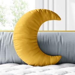 Almofada Lua Amarelo Mostarda 28cm