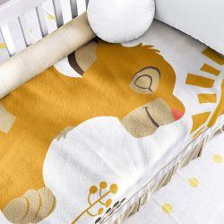Manta de Tricot Simba O Rei Leão 1m