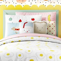 Kit Cama Infantil Solteiro Food