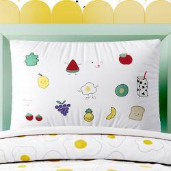 Capa de Travesseiro Infantil Food