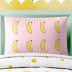 Capa de Travesseiro Infantil Bananas