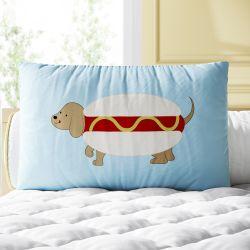 Almofada Retangular Cachorro Quente 39cm