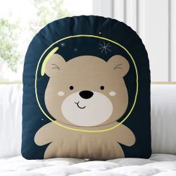Almofada Amiguinho Ursinho Astronauta 33cm