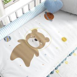 Edredom de Berço Amiguinho Ursinho Astronauta