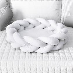 Ninho para Bebê Trança Branco 80cm