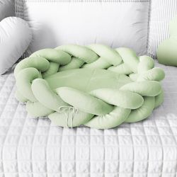 Ninho para Bebê Trança Verde 80cm