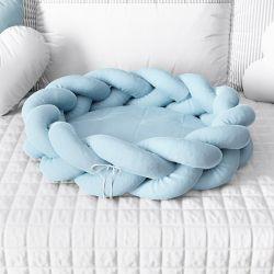 Ninho para Bebê Trança Azul 80cm